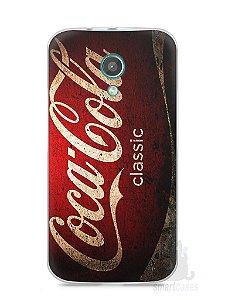 Capa Moto G2 Coca-Cola Classic