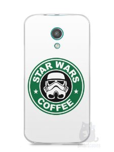 Capa Moto G2 Star Wars Coffee