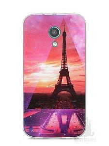Capa Moto G2 Torre Eiffel #2