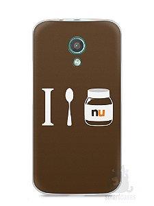 Capa Moto G2 Nutella #4