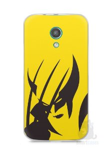 Capa Moto G2 Wolverine