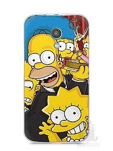 Capa Moto G2 Família Simpsons #2