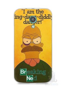 Capa Moto G2 Homer Simpson Breaking Bad