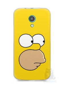 Capa Moto G2 Homer Simpson Face