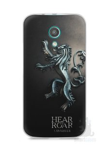 Capa Moto G2 Game Of Thrones Lannister