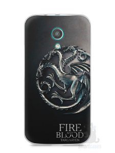 Capa Moto G2 Game Of Thrones Targaryen