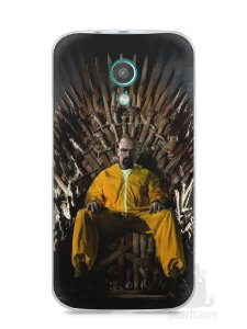 Capa Moto G2 Heisenberg Game Of Thrones