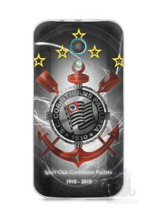 Capa Moto G2 Time Corinthians #5