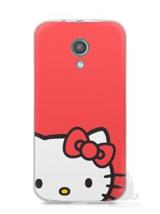 Capa Moto G2 Hello Kitty
