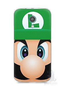 Capa Moto G2 Luigi Irmão do Super Mario
