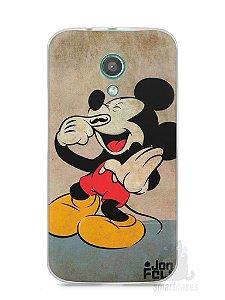 Capa Moto G2 Mickey Mouse #3