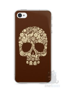Capa Iphone 4/S Caveira #5
