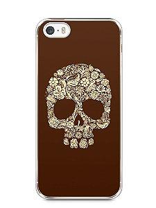 Capa Iphone 5/S Caveira #5