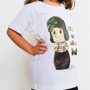 Camiseta Infantil - Não Se Ire Branca