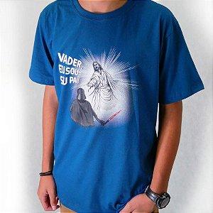 Camiseta Vader Azul Petróleo