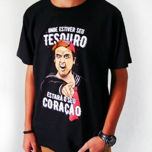 46ce93784 Camiseta - Tesouro Quico