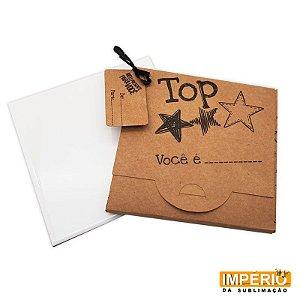 Kit Azulejo 15x15 Suporte Caixa Kraft Top