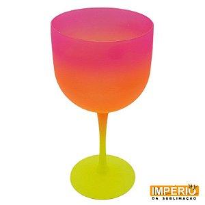 Taça Gin Summer (Amarelo-Laranja-Rosa)