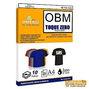 Papel OBM TOQUE ZERO PCT C/10uni (P/ Sublimação)