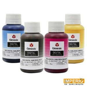 Tinta Sublimática Gênesis - 100ml