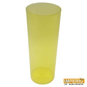 Copo Long Drink Translúcido Amarelo