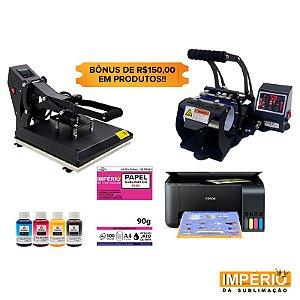 Kit prensa plana mecolour 38x38 A1011