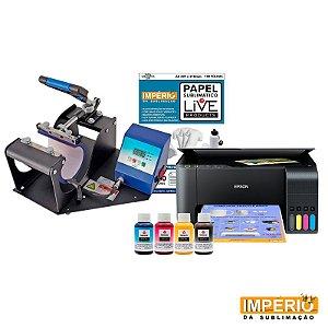 Kit prensa de caneca live digital