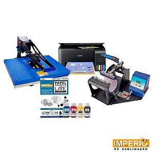 kit prensa plana 40x60 live