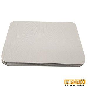 Mouse pad retangular 15x21cm EVA pacote com 5 unidades