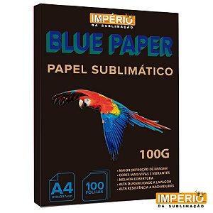 Papel blue paper 100 G com 100 folhas