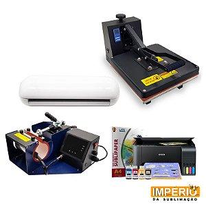 Kit prensa plana 38x38 império