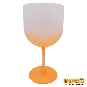 Taça de gin fosca laranja