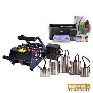 kit prensa de caneca 6x1 premium mundi