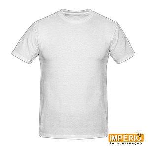 Camiseta Branca Infantil Flamê - 02 ao 14 (100% Poliéster)