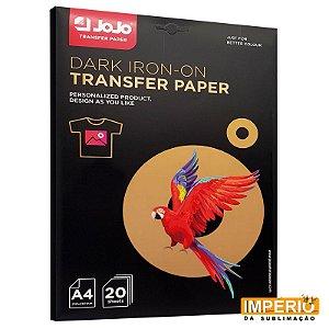 Papel A4 Dark Transfer JoJo 150g. 20 folhas