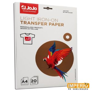 Papel A4 Light Transfer JoJo 150g. 20 folhas