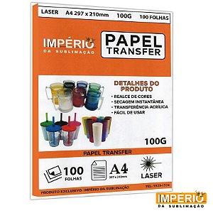Papel Laser Transfer 100g. - 100 folhas