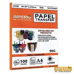 Papel Laser Transfer 90g. - 100 folhas