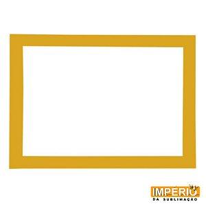 Moldura de Madeira A4 Dourada