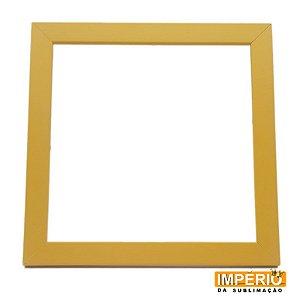 Moldura de madeira 20x20 Amarela