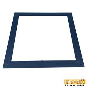 Moldura de madeira 20x20 Azul