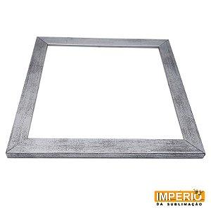 Moldura de madeira 20x20 Prata