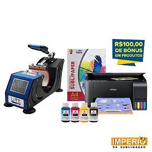 Kit Prensa de Caneca Live Painel Frontal
