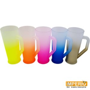 Caneca Long Drink Degradê 400ml