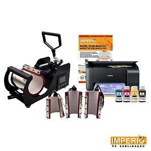 Kit Prensa de Caneca digital 4x1 Deko (Epson L3110)