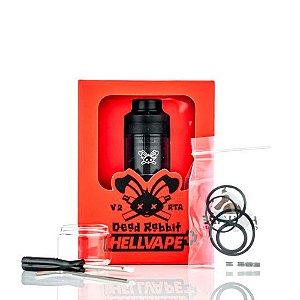 Atomizador Dead Rabbit RTA V2 25mm - HellVape
