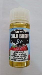 LÍQUIDO FREEBASE STRAWBERRY ICE - COLD BREW