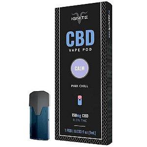 Cartucho CBD PINK CHILL - Pod One Vape - Ignite