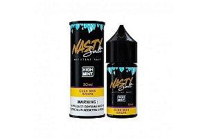 Nasty Nic Salt - High Mint Cush Man Grape