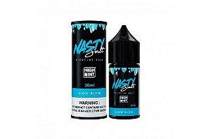 Nasty Nic Salt - High Mint Slow Blow